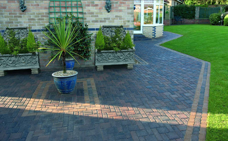 Arlanda Rustic Gold block paving