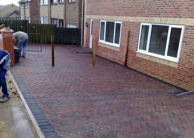 Plaspave 60 Brindle block paving installation, Lundwood, Barnsley