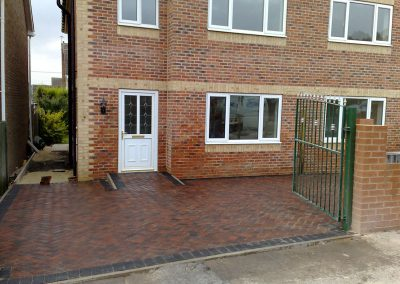 Plaspave 60 Brindle block paving driveway installation, Lundwood, Barnsley