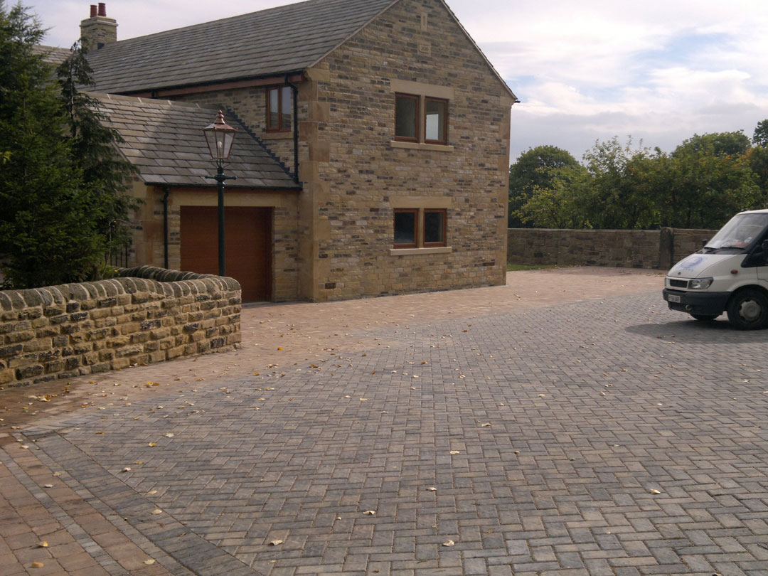 Monopoli Block Paving installed in Wortley near Sheffield