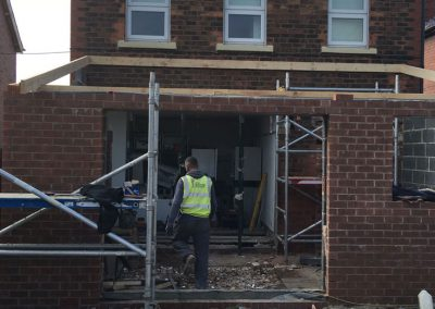 Single storey extension to a house in Doncaster