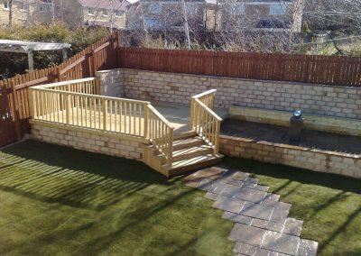 Garden decking, paving, turfing & landscaping, Silkstone