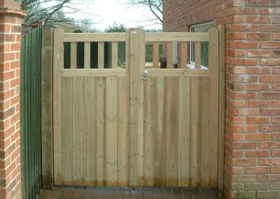 Garden gates, Darfield, South Yorkshire