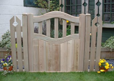 Garden Fencing Amp Gates Gallery Block Paving Amp Patios