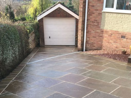 Indian Sandstone Driveways Gallery