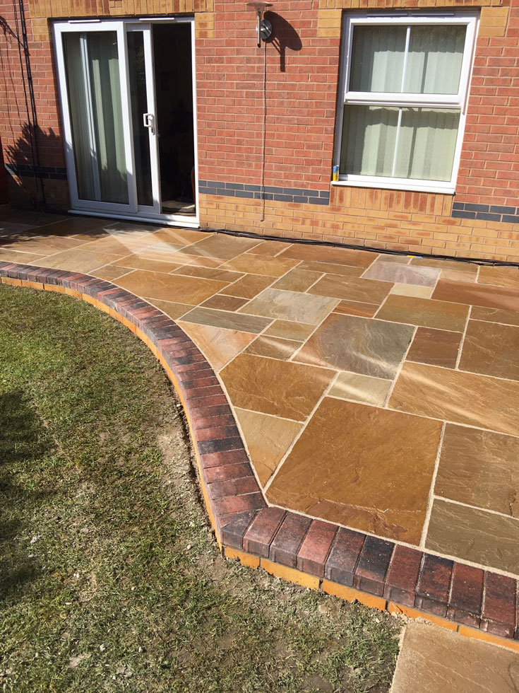 Indian Sandstone Landscaping Gallery Block Paving
