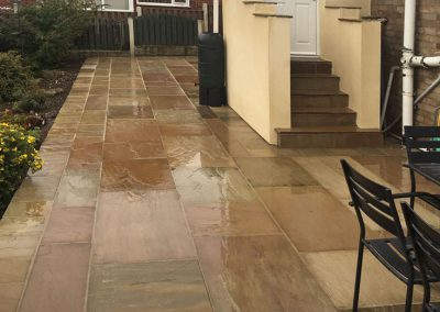 Raj Green Indian Sandstone and extension refurbishment, Worsbrough, Barnsley