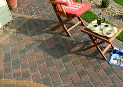 Monopoli Rustic Gold block paving