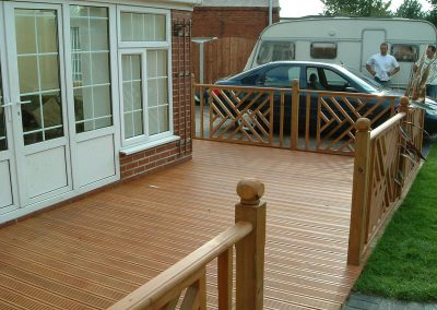 Garden Decking and fencing, South Yorkshire