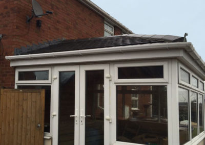 Tiled conservatory roof, Cudworth, Barnsley