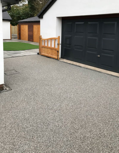 Resin driveway installation in Barnsley, South Yorkshire