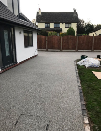 Resin driveway installed in Barnsley, South Yorkshire
