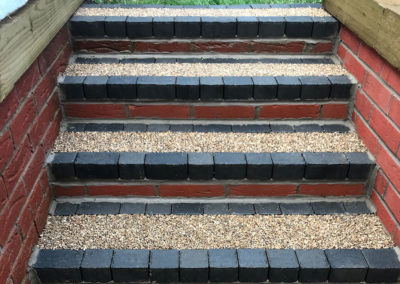Resin steps and paths installed in Barnsley, South Yorkshire